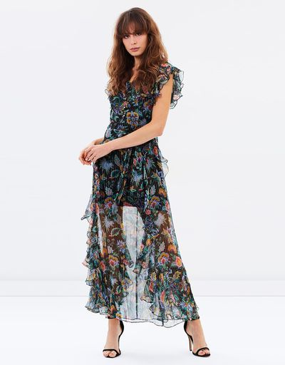 "Alice McCall maxi dress, $590 at <a href=""http://www.theiconic.com.au/oh-oh-oh-maxi-dress-483780.html"" target=""_blank"" draggable=""false""><strong>The Iconic</strong></a><br />"