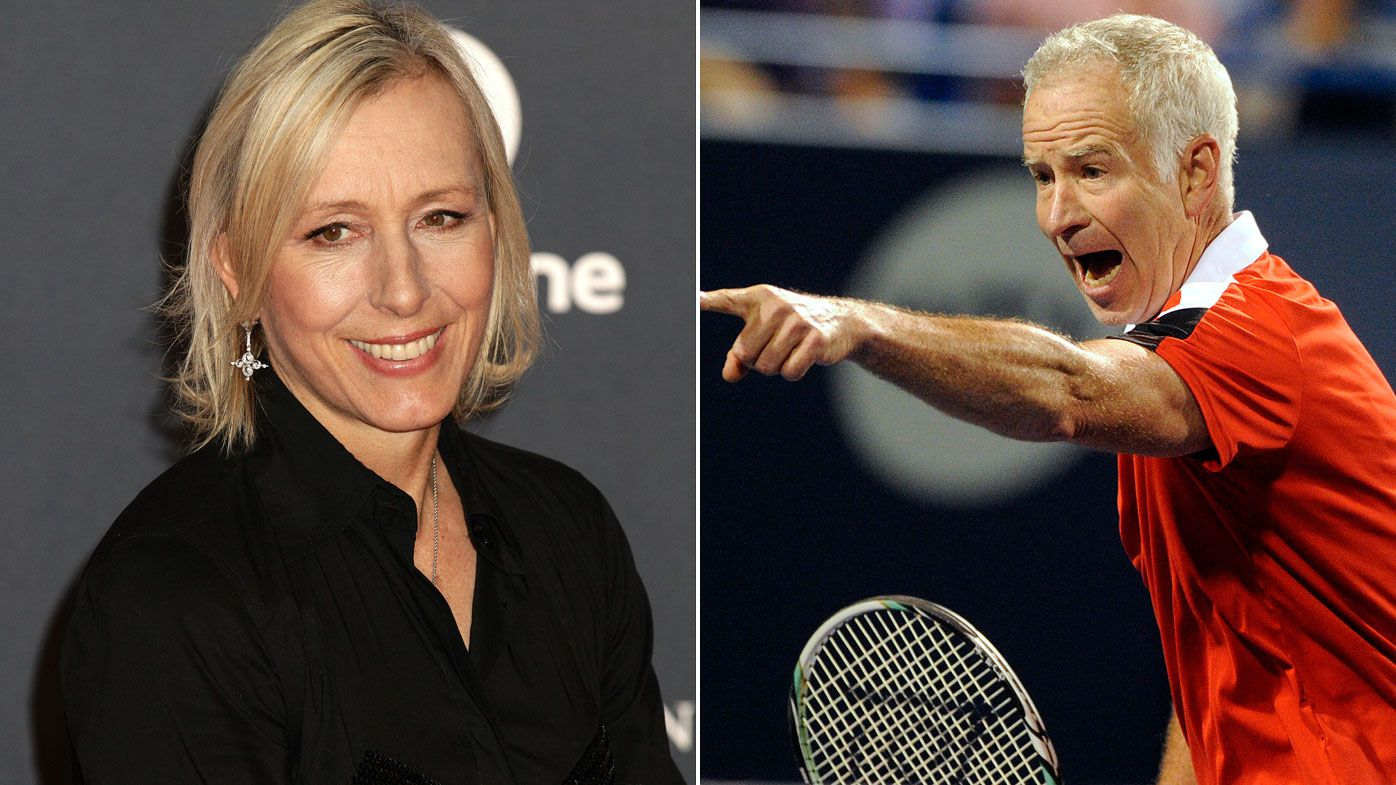 Tennis legend Martina Navratilova lashes out at BBC over pay
