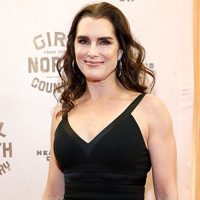 """Brooke Shields attends """"Girl From The North Country"""" Broadway opening night at Belasco Theatre on March 05, 2020 in New York City."""