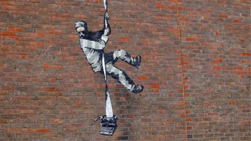 Could Banksy be behind this prison-escape mural on jail wall?
