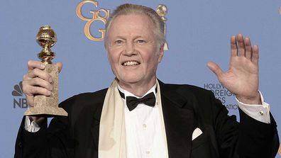 John Voight at the 71st Golden Globe Awards.