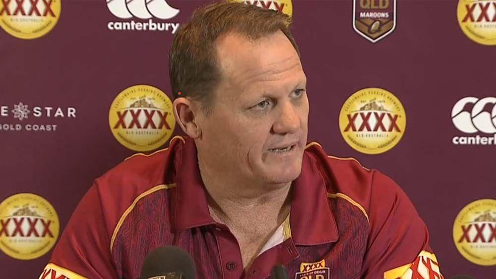 Queensland coach Kevin Walters