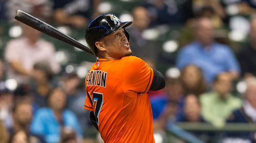 Stanton was due to become eligible for free agency before the 2017 season. (AAP)