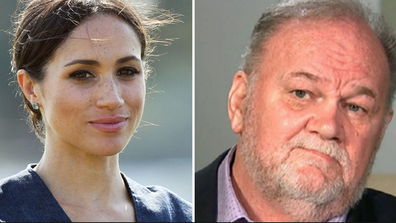 Meghan Markle and father Thomas Markle