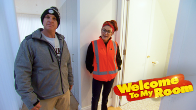 Welcome To My Room: Teams react to the 'stunning' feature in Jimmy and Tam's hallway