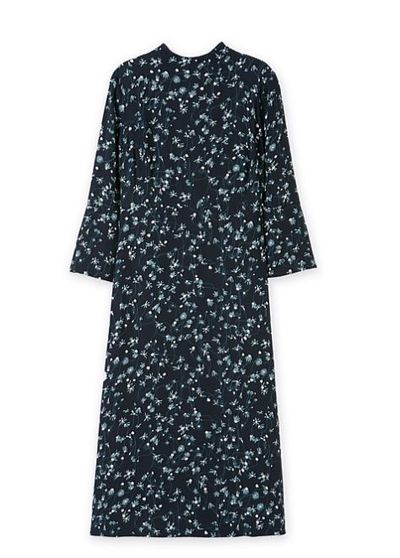 "Brightly patterned? Tick. Flattering shape? Tick. <a href=""https://www.countryroad.com.au/shop/woman/clothing/dresses/60207157/Fluted-Sleeve-Midi-Dress.html"" target=""_blank"">Country Road Fluted Sleeve Midi Dress, $199.</a>"