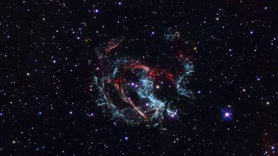 Supernova remnant 1E 0102