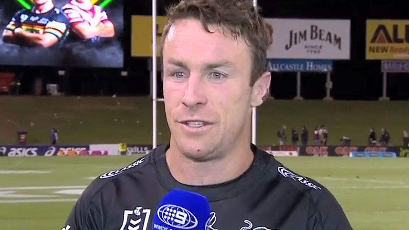 James Maloney hoses down speculation of early Penrith Panthers release