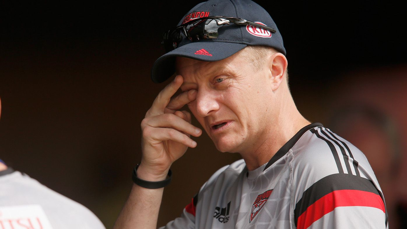 AFL: Essendon Bombers assistant coach Mark Neeld shown the door