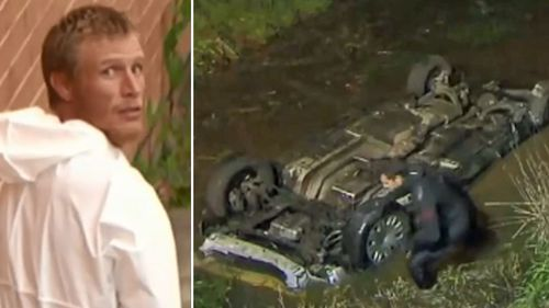 Zak Mark Anderton was drunk when he flipped his car with passenger Ryan English inside.