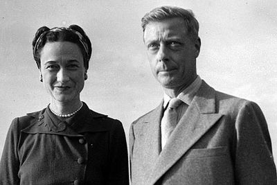 In 1936 Edward VIII abdicated after just 326 days as king because he had fallen in love with, and proposed to, American divorcee Wallis Simpson. He was succeeded by his younger brother Albert (Queen Elizabeth's father), who reigned as King George VI.