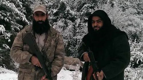 Egyptian-born Australian Muslim Abu Sulayman, right, is believed to Australia's highest-ranked member of Al Qaeda, and is currently in Syria with Al Nusra Front.
