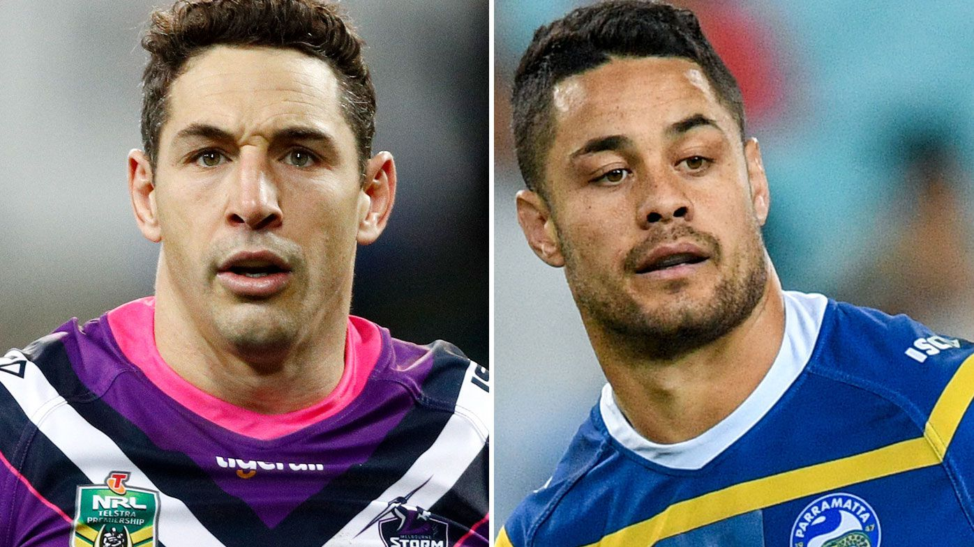 Billy Slater and Jarryd Hayne