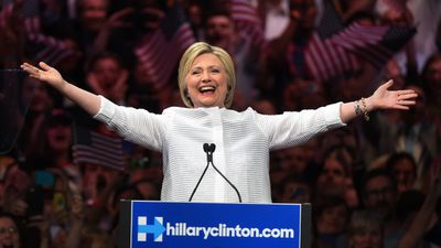 Ms Clinton declared herself the Democratic nominee for US president on June 7, celebrating her victory in the nomination race over Bernie Sanders in New York.