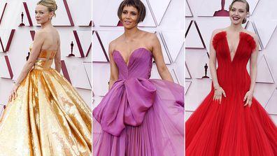 2021 Academy Awards red carpet fashion
