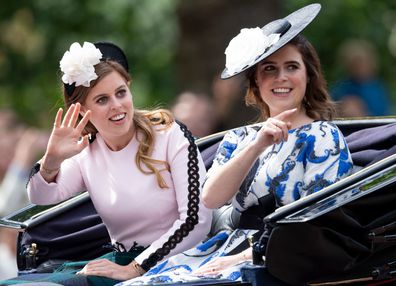 Trooping the Colour: Princess Eugenie and Princess Beatrice