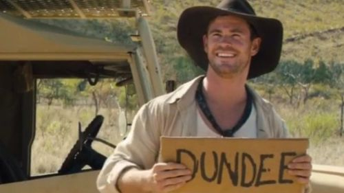 Aussie 'golden boy' Chris Hemsworth. (Dundee Movie)
