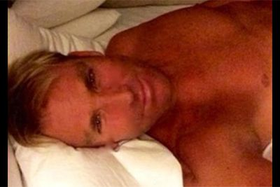 """In a misguided attempt to woo his lady-love, Elizabeth Hurely, Shane Warne posted this half-naked bedroom shot to his Instagram with the caption: """"Morning…"""" <br/><br/>But Warnie's 11-year-old daughter, Summer, was quick to condemn the embarrassing snap, writing """"Dad, take this down."""" Good thing you've always got family to keep you in line! <br/><br/><i>Image: Instagram @shanewarne23</i>"""