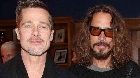 Brad Pitt, Chris Cornell attend ROCK4EB! charity event,