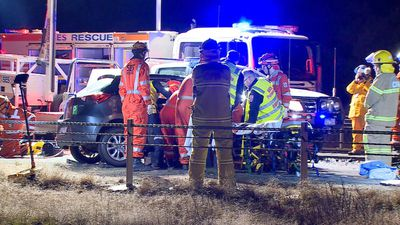 Three crashes in one night on Victorian roads