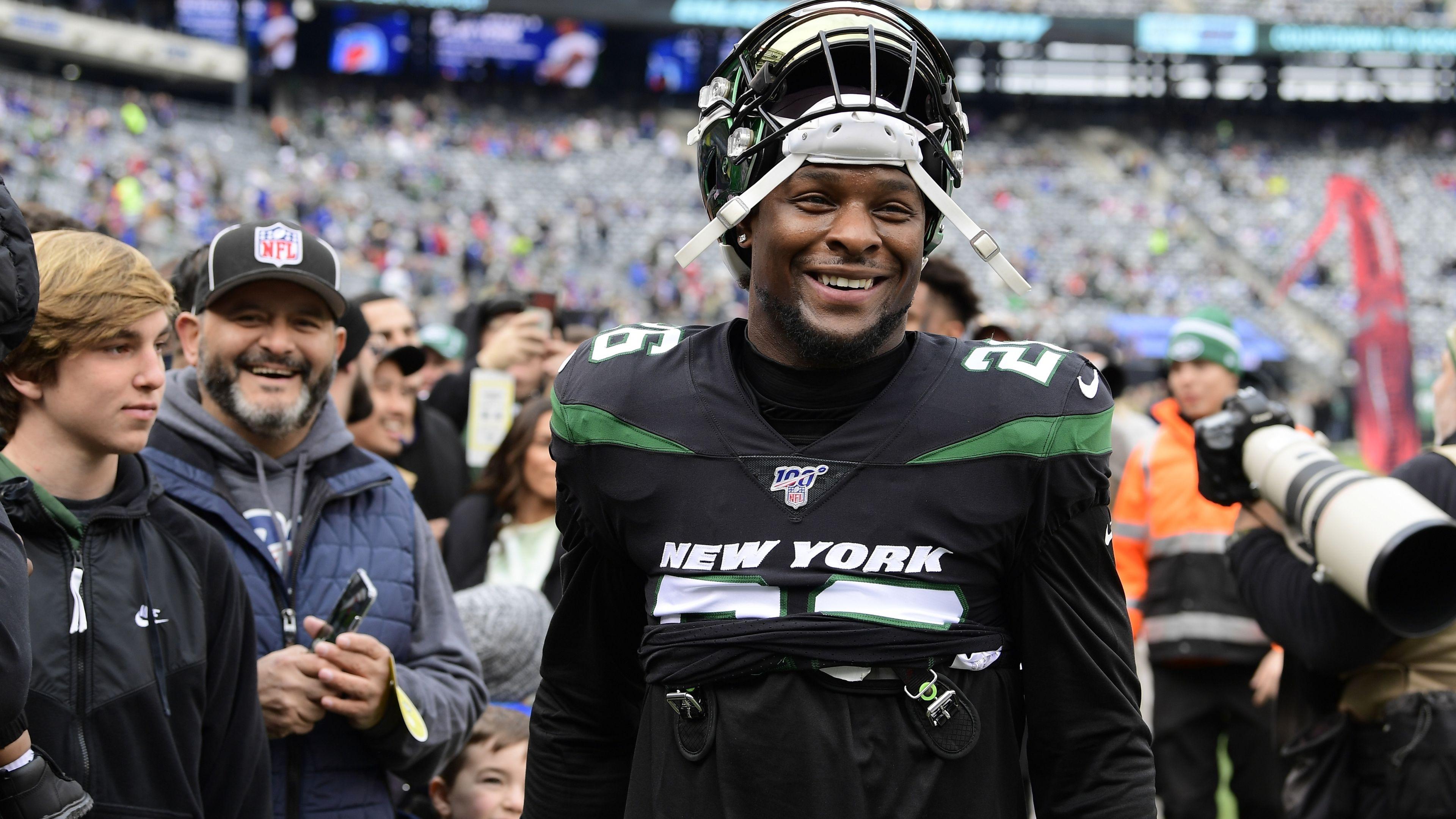 Former New York Jets running back Le'Veon Bell.
