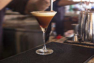 1 Mars Bar = 0.9 espresso martinis