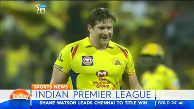 Shane Watson ton earns Chennai Super Kings third Indian Premier League title