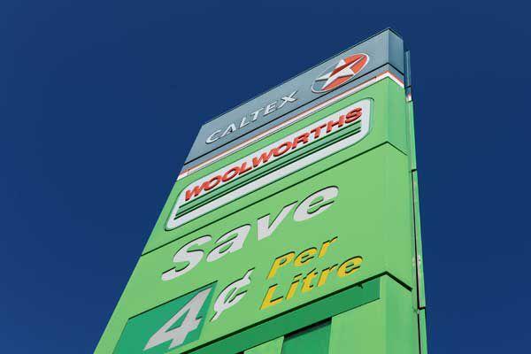 Woolworths petrol station