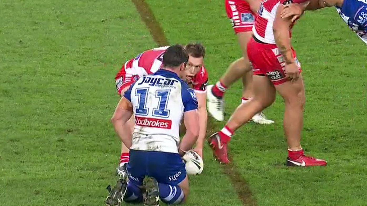 NRL: St George Illawarra Dragons' Cameron McInnes first player penalised under new rule