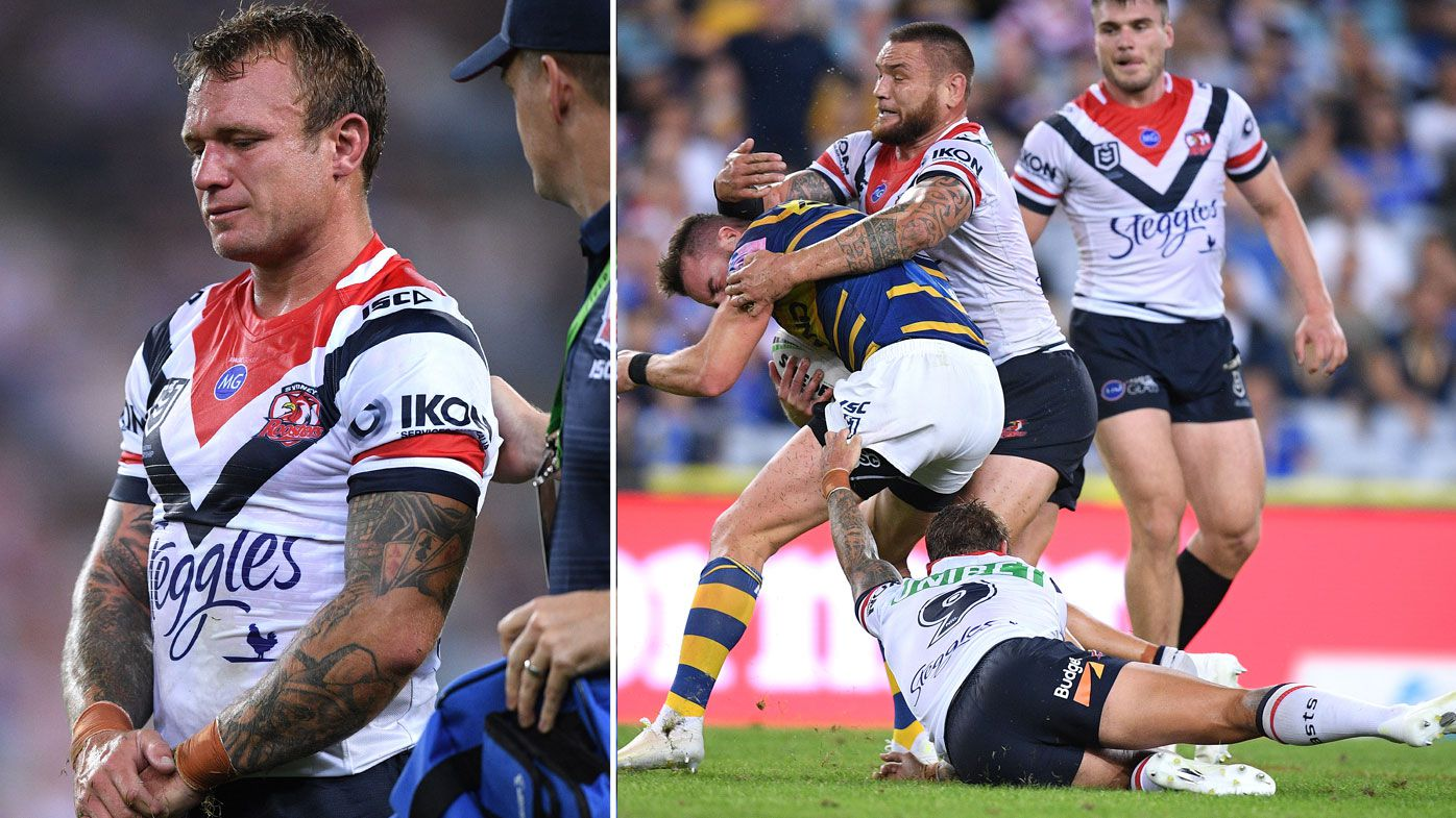NRL Round 3 injury list: Jake Friend, JWH join Cooper Cronk in Roosters casualty ward, Titans lose Nathan Peats for three months