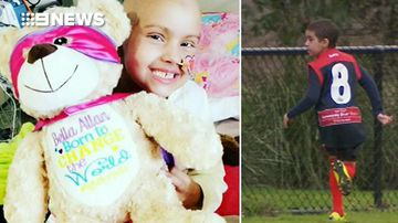 Eight-year-old girl battling leukaemia granted football wish