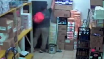 Search underway for armed toilet paper thief