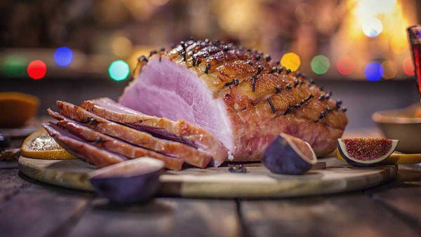 iStock: Christmas ham