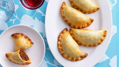 Lunch: Bolognese turnovers