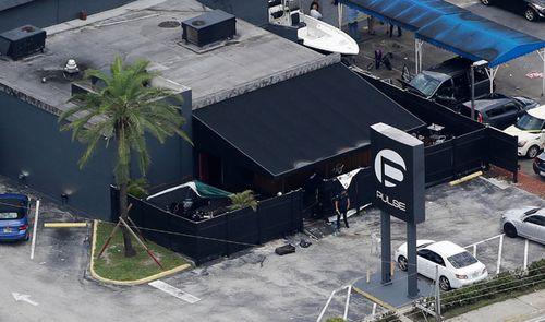 The Pulse nightclub in Orlando, following a mass shooting in 2016. (AP).