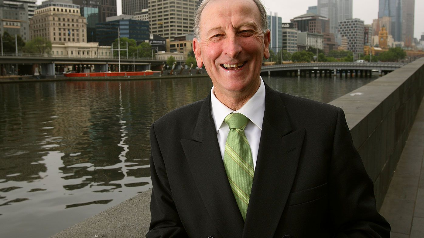 Former Australian captain Bill Lawry.