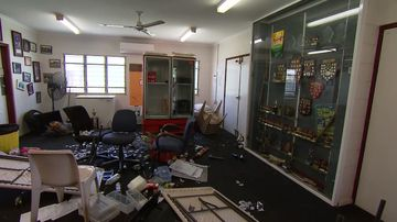 Members devastated after volunteer-run cricket club ransacked by vandals