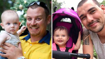 Geoffrey Keaton, 32, and Andrew O'Dwyer, 36, both have 19-month-old toddlers.