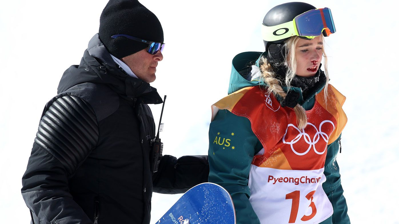 Aussie hope Arthur crashes out in halfpipe
