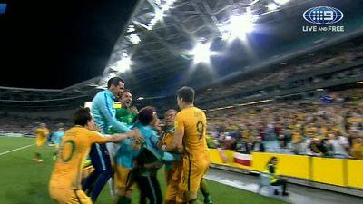 FFA boss David Gallop says Socceroos coach Ange Postecoglou hasn't made a decision on future