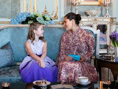Crown Prince Victoria with Emilia