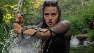 Katherine Langford in Netflix's Cursed.