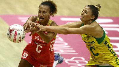 Diamonds beat England, lead netball series