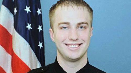 Foto selebaran tak bertanggal ini disediakan oleh Departemen Kehakiman Wisconsin menunjukkan Petugas Polisi Kenosha Rusten Sheskey.