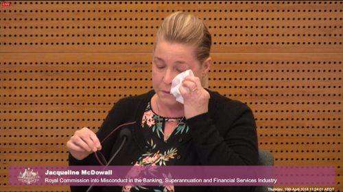Jacqueline McDowall and her husband sold their home on Westpac advice, only to be told they were unable to secure a loan.