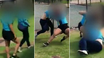 Student stalked, punched and kicked in schoolyard beating