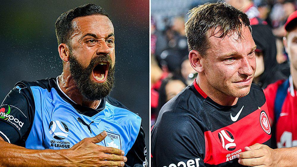 A-League: Sydney FC smash Western Sydney Wanderers in derby