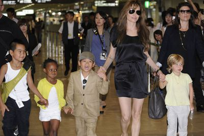 <p><b>Brad Pitt</b> and <b>Angelina Jolie</b> are Hollywood royalty, so it's only fitting that their kids are treated like kings and queens. Brad and Ange apparently spend $6 million a year on their children. With six kids, that's a hefty $1 million each. <b>Maddox</b>, <b>Zahara</b>, <b>Shiloh</b>, <b>Pax</b> and twins, <b>Knox</b> and <b>Vivienne</b> each have a bilingual nanny and tutor and wardrobes full of designer clothes.</p><br/><p>According to a former nanny, Brad and Ange let their kids run amuck, drink wine, watch R rated movies and drive cars around their estate. Zahara, has also been treated to a $13,000 princess themed birthday party.</p>