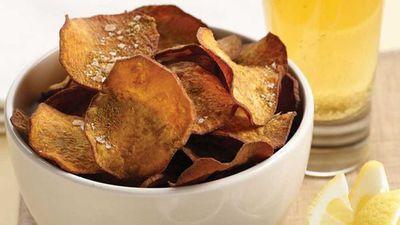 <strong>Kumara chips with cumin salt</strong>