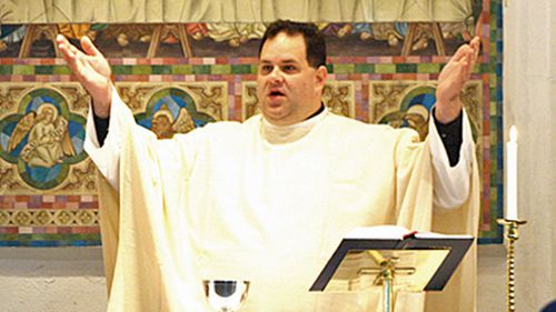 Father Chris Bedding has been suspended from the Perth diocese. (Supplied)